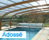 abri piscine adoss�