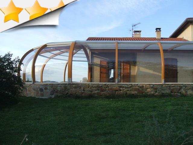 Abri adoss la maison abris bois apc france - Abri piscine adosse maison nanterre ...