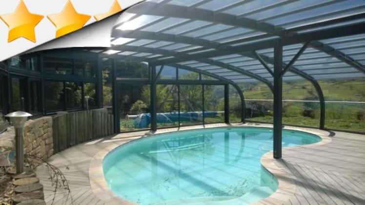 Nos abris bois sur mesure par apc for Abri piscine sur mesure