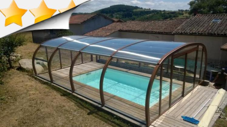 Abri piscine bretagne for Piscine bois france