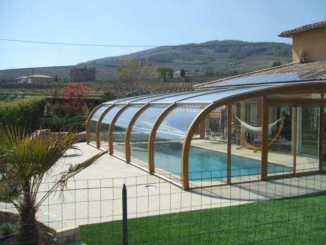 Abri adoss la maison abris bois par apc - Piscine aqualude montbrison ...