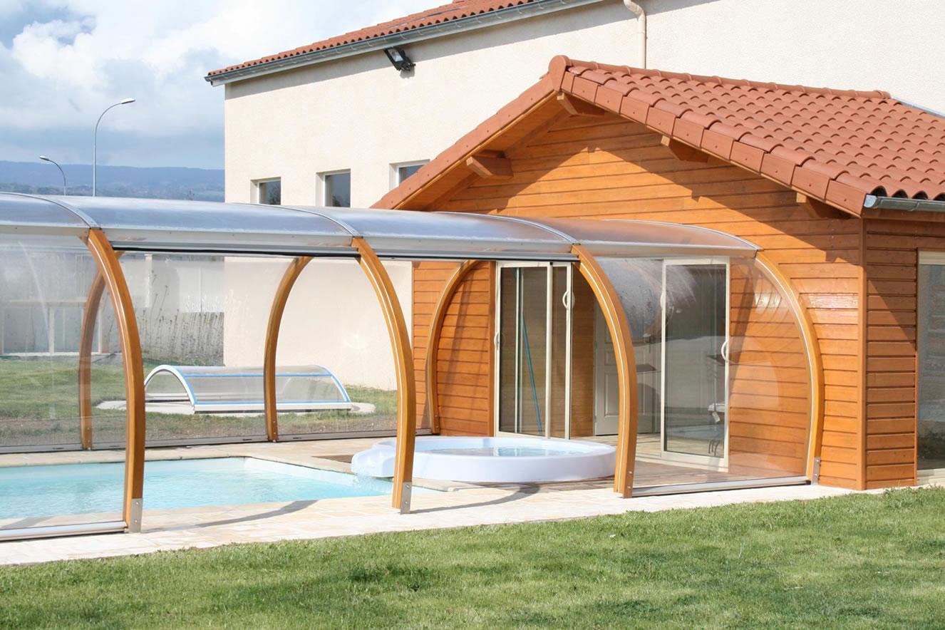 Abri Veranda Pour Spa chalet pour spa spa spa par apc